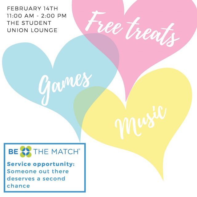 Valentine's Day: Free Treats, Games, Music