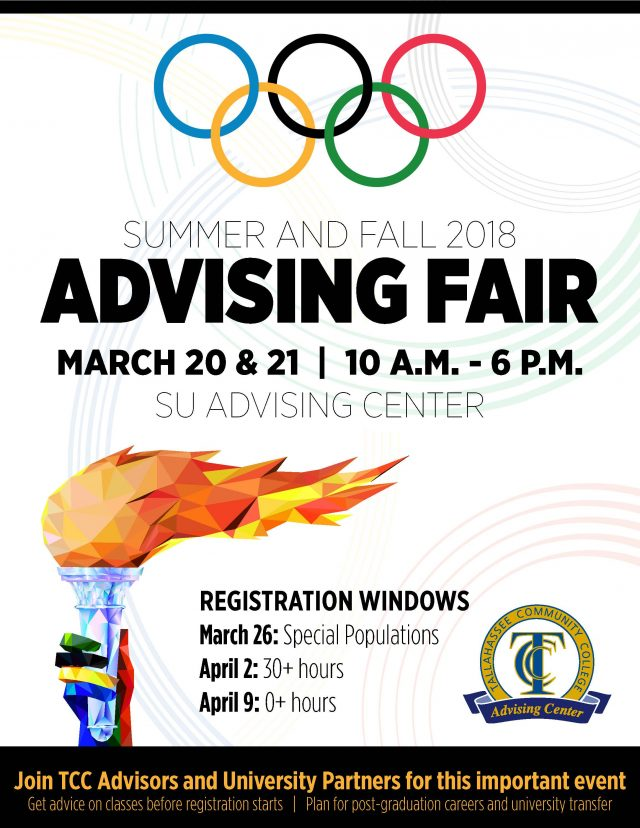Summer and Fall 2018 Advising Fair