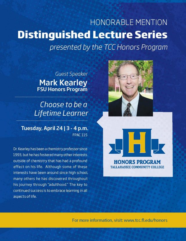 Honors Program: Distinguished Lecture Series