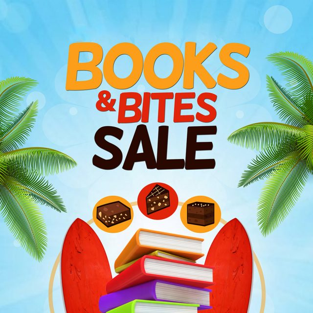 Books & Bites Sale hosted by TCC Library