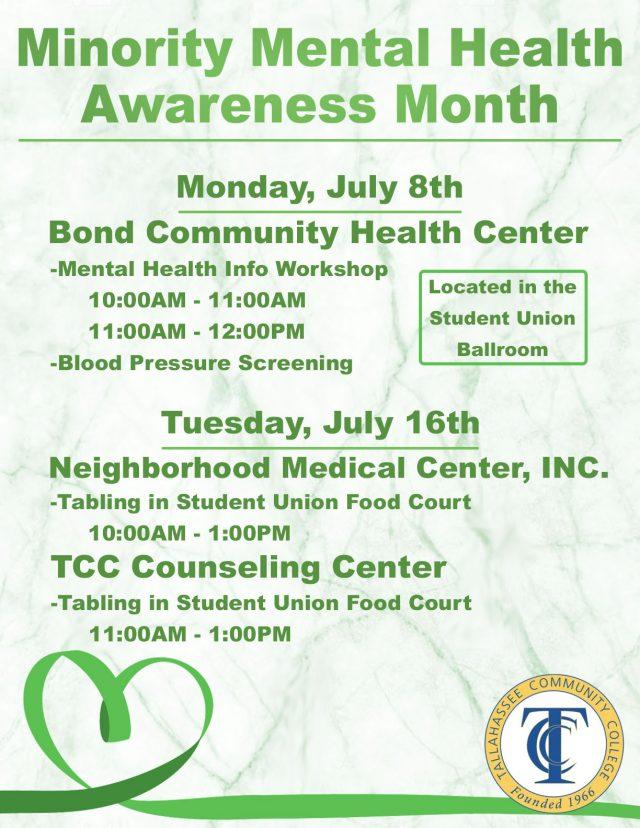 Minority Mental Health Awareness