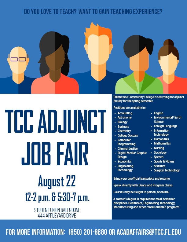 TCC Adjunct Job Fair