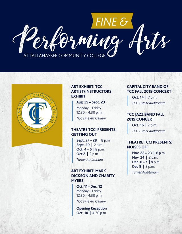 Capital City Band of TCC Fall 2019 Concert