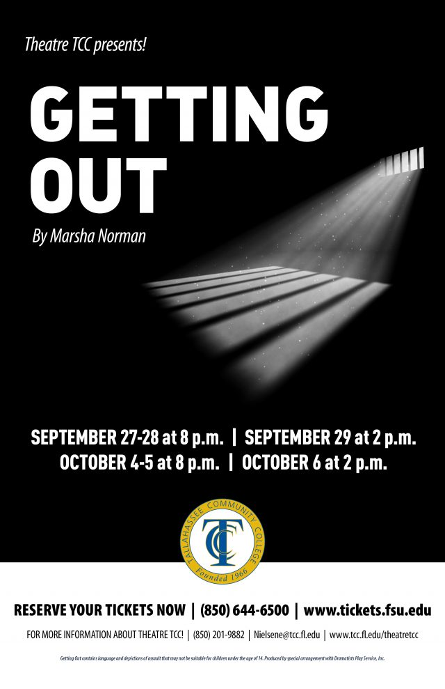 Theatre TCC! Presents: Getting Out