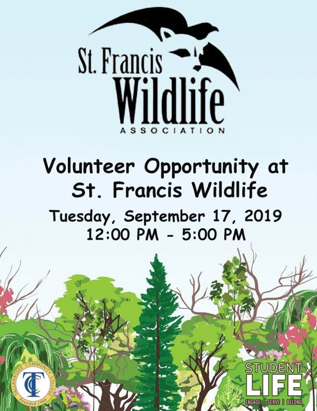 St. Francis Wildlife Volunteer Opportunity