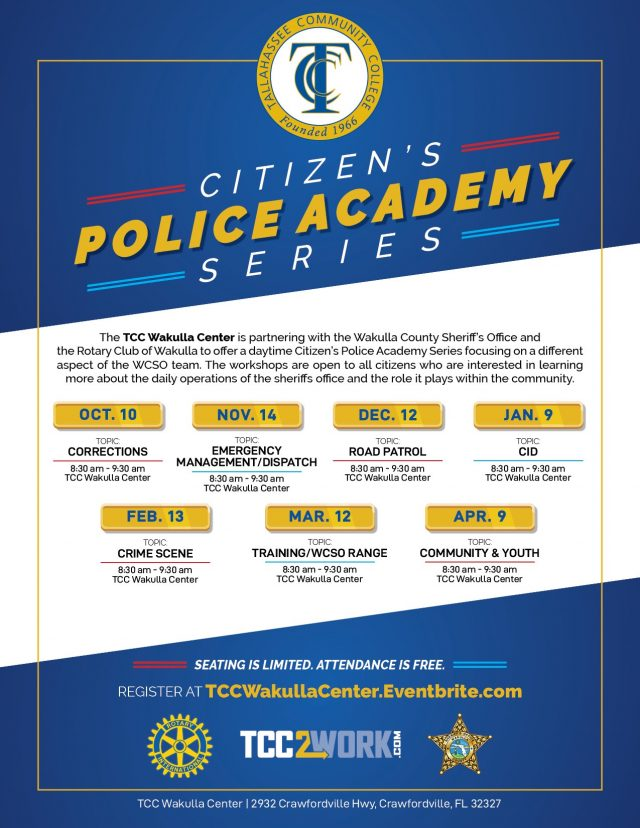 Citizen's Police Academy Series