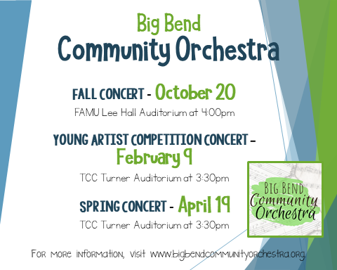 Big Bend Community Orchestra Young Artist Competition Concert