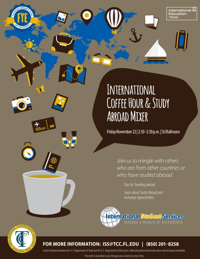 International Coffee Hour and Study Abroad Mixer