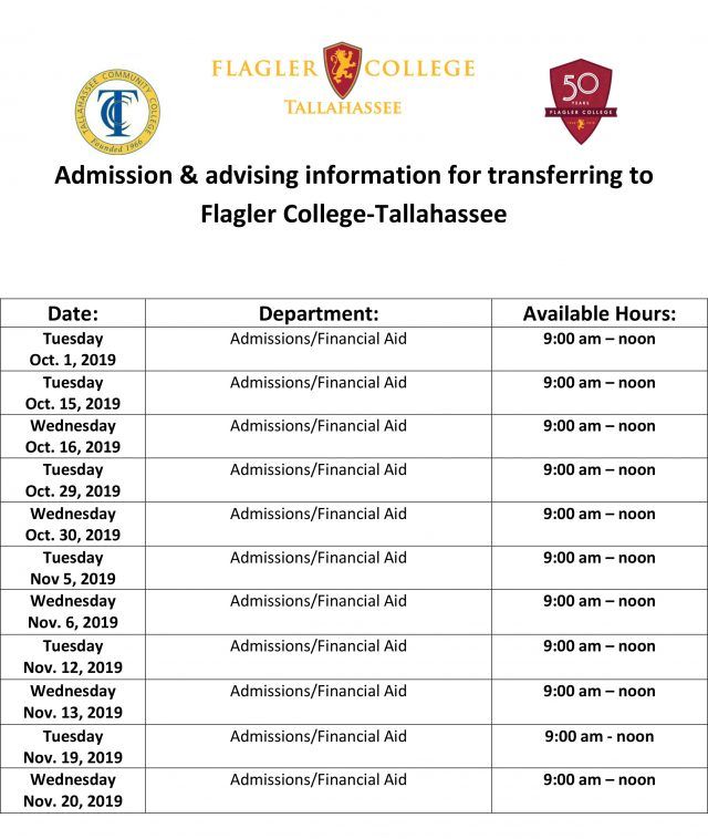 Flagler Advising at TCC