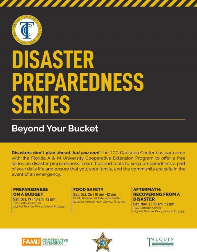Disaster Preparedness Series: Beyond Your Bucket