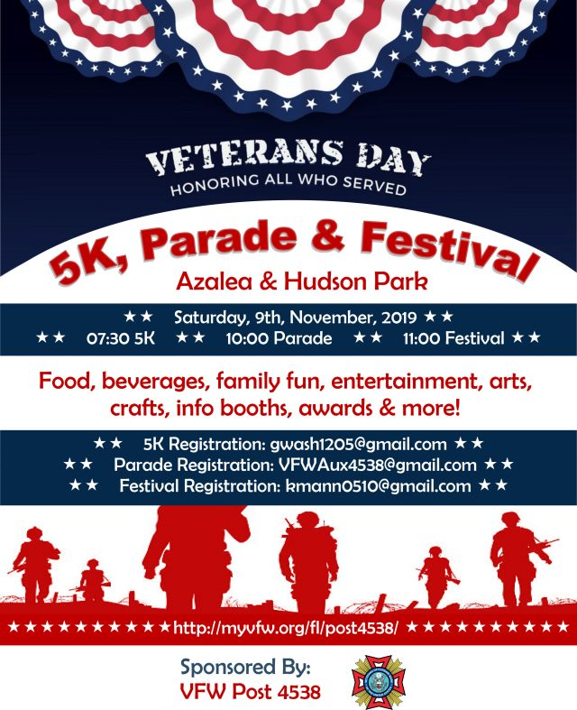 Veterans Day 5K, Parade & Festival