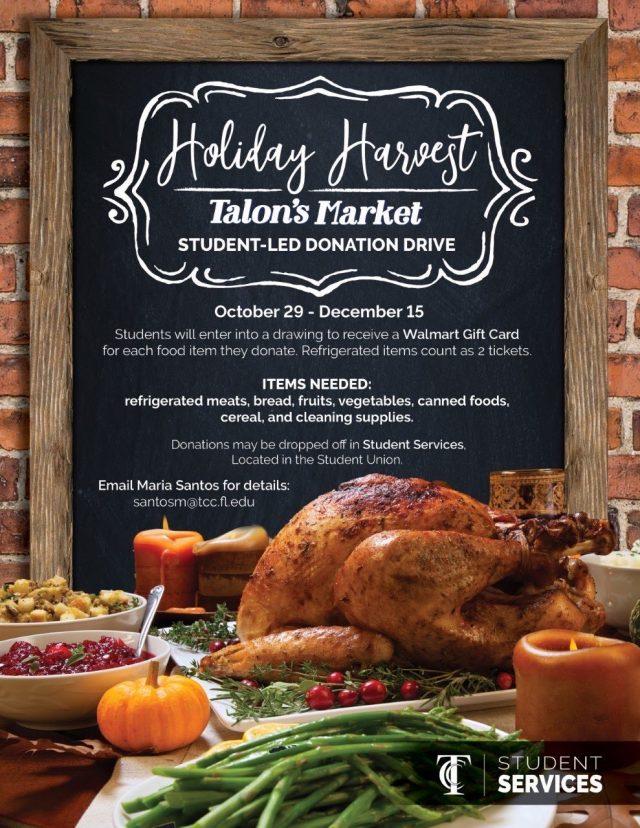 Holiday Harvest at Talon's Market