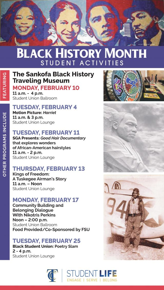 Black History Month Student Activities