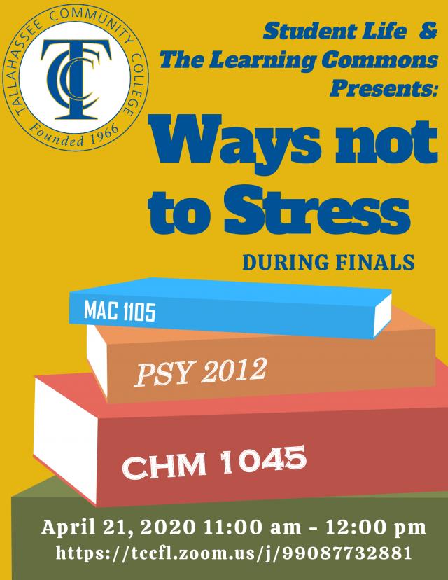 Stress-Free Finals Week