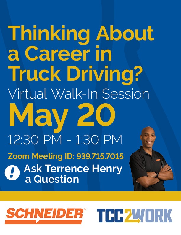 Truck Driving Virtual Walk-In Session