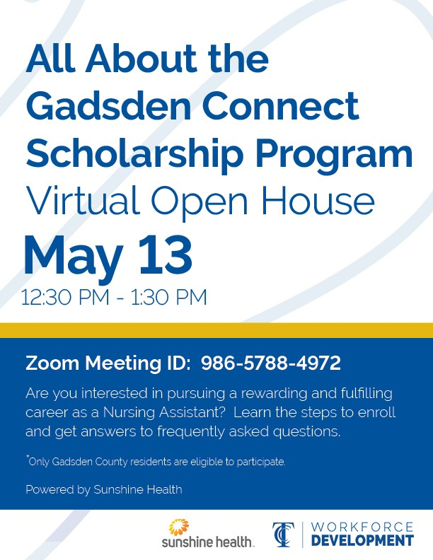 Gadsden Connect Scholarship Program Virtual Open House