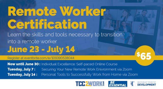 Remote Worker Certification